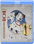 101 Dalmatians Bluray