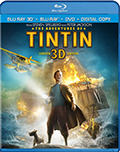 The Adventures of Tintin 3D Bluray