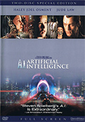 A.I. Artificial Intelligence Fullscreen DVD