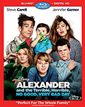 Alexander and the Terrible, Horrible, No Good, Very Bad Day Bluray