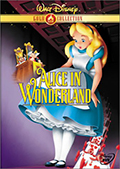 Alice in Wonderland Gold Collection DVD
