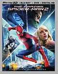 The Amazing Spider-Man 2 3D Bluray