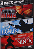 American Ninja Triple Feature DVD