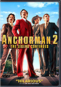 Anchorman 2 DVD