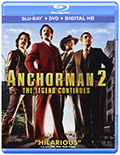 Anchorman 2 Bluray