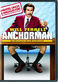 Anchorman Unrated Fullscreen DVD