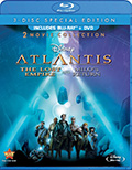 Atlantis Combo Pack DVD