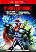 Avengers Confidential: Black Widow & Punisher DVD