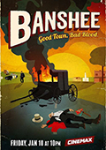 Banshee: Season 2 DVD