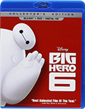 Big Hero Six Bluray