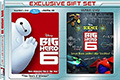 Big Hero Six Walmart Exclusive Bonus DVD