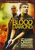 Blood Diamond Widescreen DVD