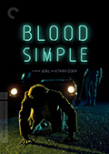 Blood Simple Criterion Collection DVD