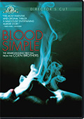 Blood Simple Director's Cut DVD