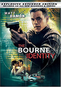 The Bourne Identity Extended Edition DVD