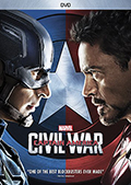 Captain America: Civil War DVD