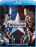 Captain America: Civil War Bluray
