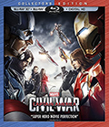 Captain America: Civil War 3D Bluray
