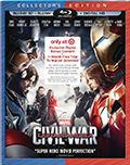 Captain America: Civil War 3D Target Exclusive Edition Bluray