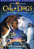 Cats and Dogs Fullscreen DVD