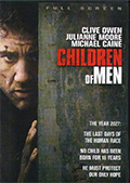 Children of Men Fullscreen DVD