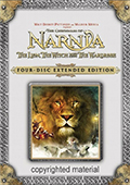 The Chronicles of Narnia: The Lion, The Witch and The Wardrobe Extended Edition DVD