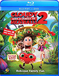 Cloudy With A Chance of Meatballs 2 Bluray