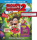 Cloudy With A Chance of Meatballs 2 Target Exclusive Bonus DVD
