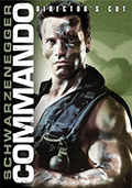 Commando Director's Cut DVD