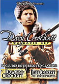 Davy Crockett Double Feature DVD