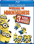 Minion Madness Bluray