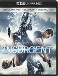 Insurgent UltraHD Bluray