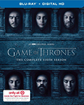 Game of Thrones: Season 6 Target Exclusive DVD
