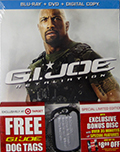 G.I. Joe Retaliation Target Exclusive Bluray