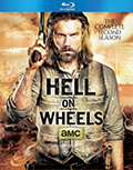 Hell on Wheels: Season 2 Bluray
