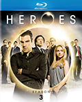Heroes: Season 3 Bluray