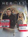 Heroes: Season 3 Target Exclusive DVD