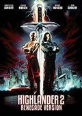 Highlander 2 2013 Re-Release DVD