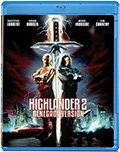Highlander 2 Re-release Bluray
