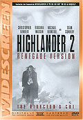 Highlander 2 Renegade Version DVD