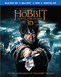 The Hobbit: Battle of the Five Armies 3D Bluray