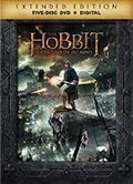 The Hobbit: Battle of the Five Armies Extended Edition DVD