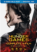 The Hunger Games Complete Collection Bonus Bluray