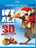 Ice Age: A Mammoth Christmas Special 3D Bluray