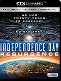 Independence Day: Resurgence UltraHD Bluray