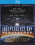 Independence Day: Resurgence 3D Bluray