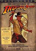 Indiana Jones The Complete Collection Fullscreen DVD