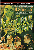 The Invisible Man DVD