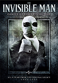 The Invisible Man The Complete Legacy Collection DVD
