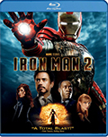 Iron Man 2 Single Disc/Side Bluray